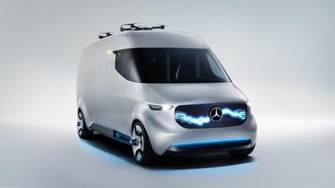 Mercedes-Benz Vans At CES in Las Vegas For The First Time