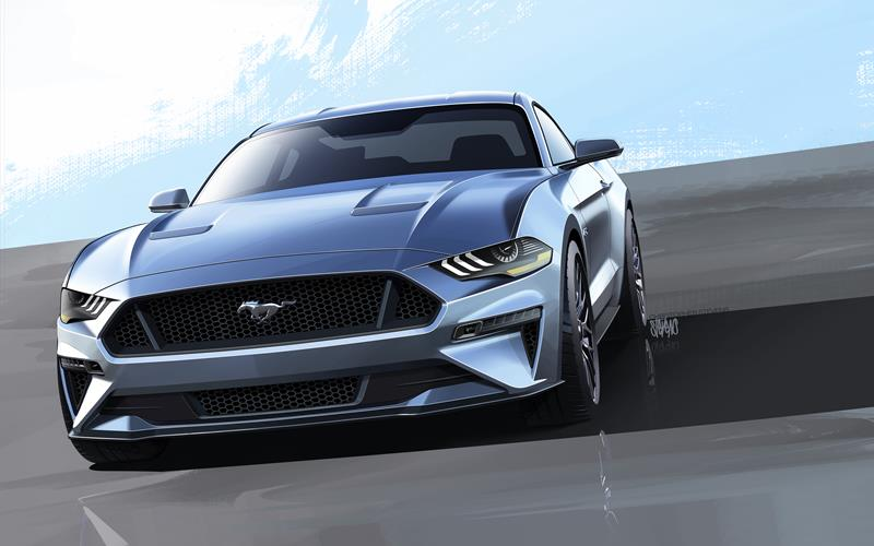 2018 Ford Mustang Unveiled With More Performance New Design
