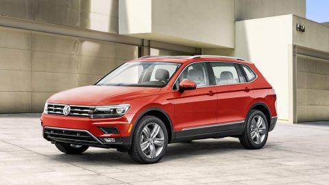 VW Long-wheelbase Tiguan Unveiled at NAIAS