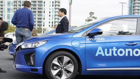 Hyundai Showcases Autonomous Technologies at CES 2017