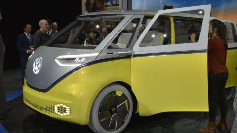 VW I.D. Buzz Concept Makes World Debut at NAIAS