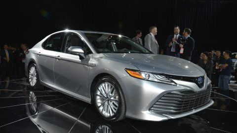 All-new 2018 Toyota Camry Debuts in Detroit