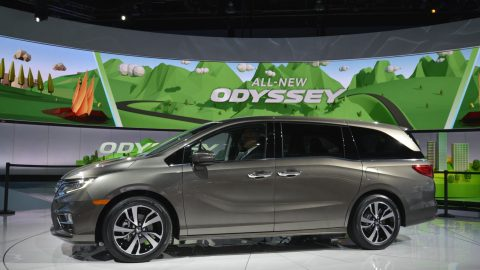 All-new 2018 Honda Odyssey Debuts in Detroit