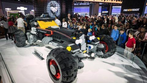 Chevrolet Lego Batmobile Unveiled