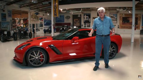 Jay Leno Drives the Calloway Corvette Aerowagen