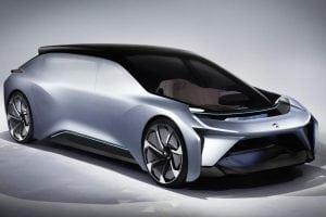 Nio EV Concept Hyper EV
