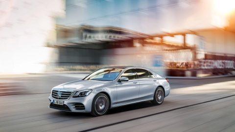 Mercedes-Benz Unveils 2018 S-Class In Shanghai