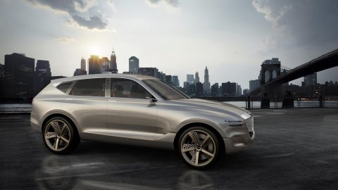 Genesis GV80 Fuel Cell Electric Concept Debuts in New York