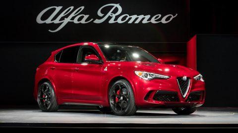 Alfa Romeo Debuts 2018 Stelvio SUV at New York