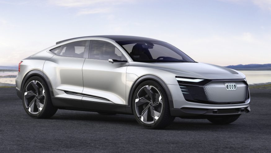Audi e-tron Sportback concept: second electric Audi in production from 2019