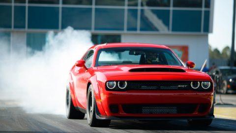2018 Dodge Challenger SRT Demon Debuts At 840 HP