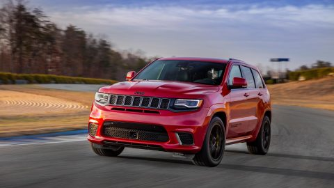 2018 Jeep Grand Cherokee Trackhawk Debuts With 707 Horses