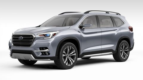 Subaru Reveals New Ascent 3-row SUV Concept, Production Coming Soon