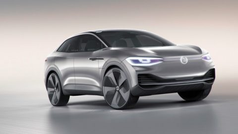 Volkswagen I.D. CROZZ crossover concept glides into Shanghai