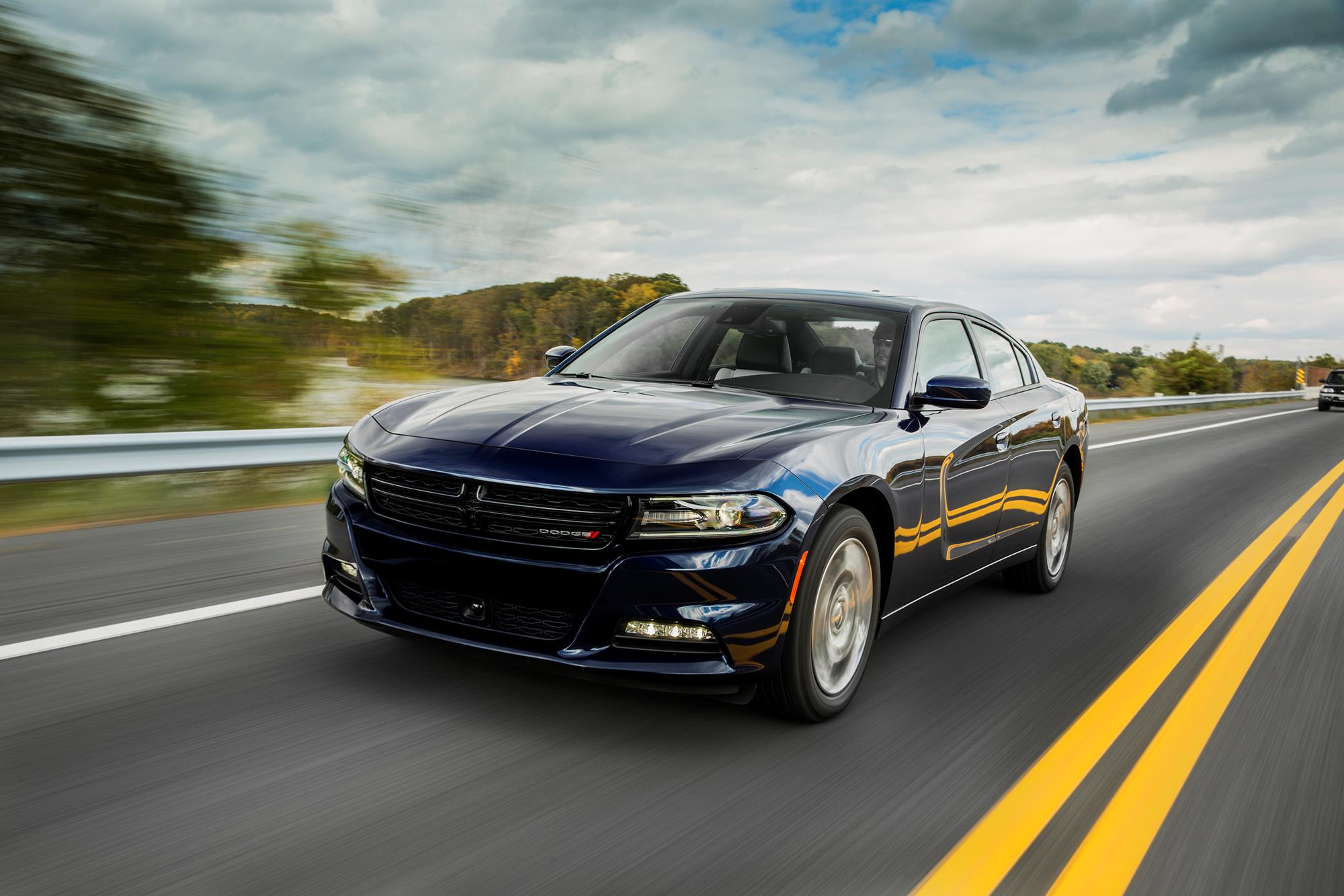 Muscle car adjacent: V6 AWD Dodge Charger is more family-friendly ...