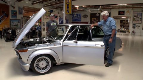 1976 BMW 2002 Goes To Leno's Garage