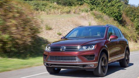 Weird name, solid SUV: Volkswagen Touareg does many things right
