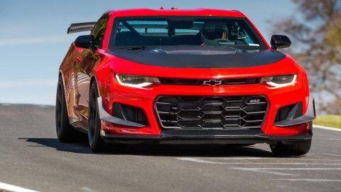 2018 Chevrolet Camaro ZL1 1LE Sets Nurburgring Record