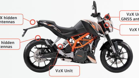 Bike-to-Vehicle Technology Launched To Prevent Motorcycle Accidents