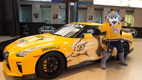 One-of-a-kind Nissan GT-R 'Predzilla' donated to Nashville Predators Foundation