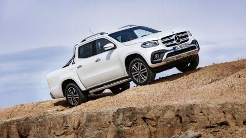 The New Mercedes-Benz X-Class Pickup