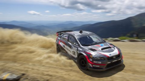Subaru's Pastrana Smashes Mt. Washington Hill Climb Record