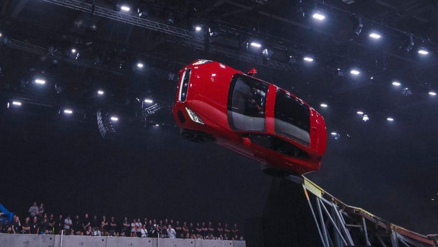 Jaguar E-Pace Barrel Rolls Into The Spotlight