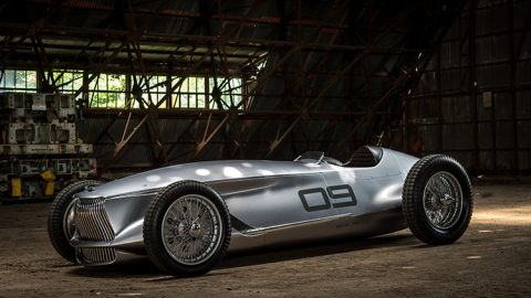 Infiniti Prototype 9 Is An Electric Retro Roadster
