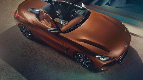 BMW Unveils Concept Z4 and Concept 8