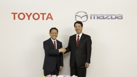 Toyota and Mazda Enter Alliance for U.S. Plant, EV Tech