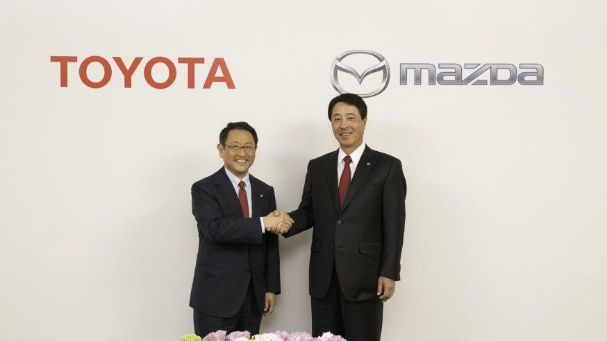 Toyota and Mazda Enter Alliance for U.S. Plant, EV Tech