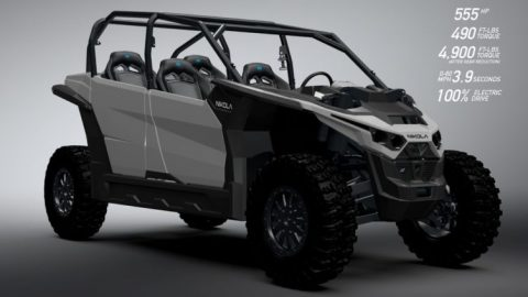 Nikola Zero UTV Boasts 555 HP and 200 Miles of Range