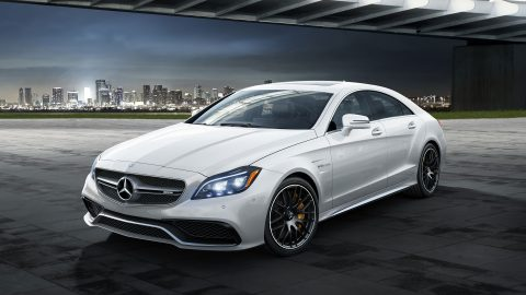 Mercedes AMG-CLS 63 S Coupe