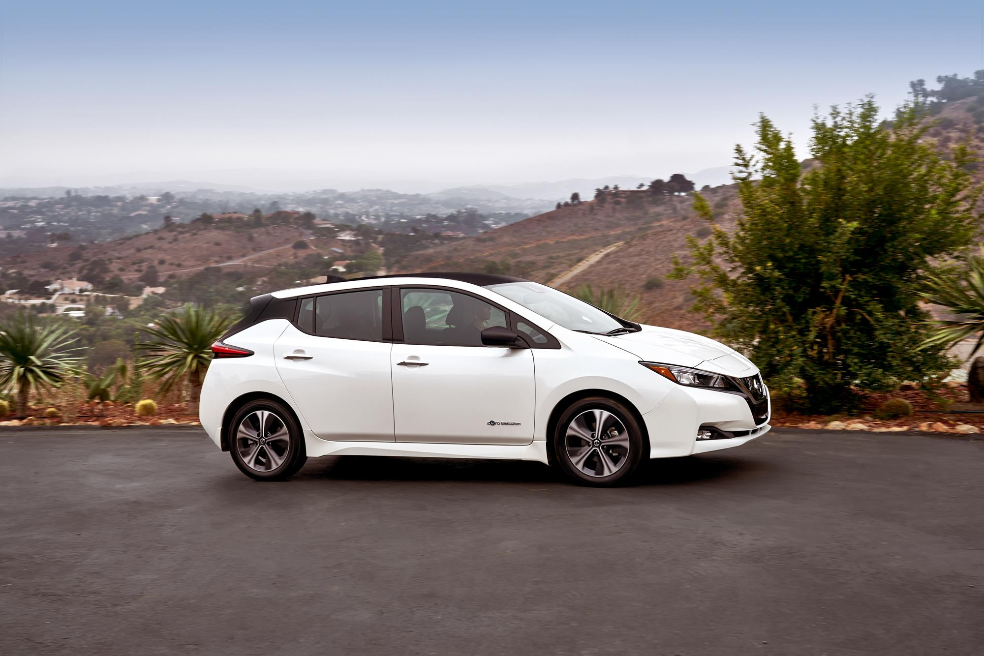 green world all new nissan leaf year car of named electric the