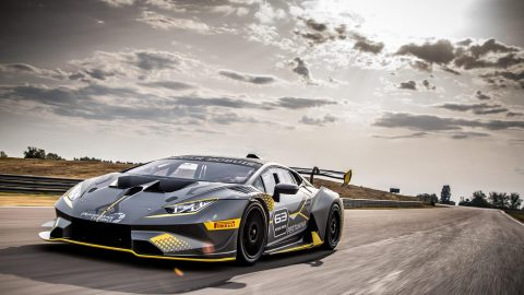 World Premier of the Lamborghini Huracan Super Trofeo Evo