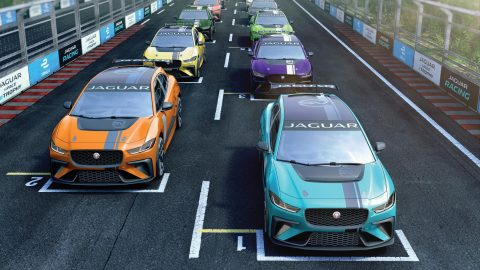 Jaguar Supporting Formula E With I-Pace eTrophy Series