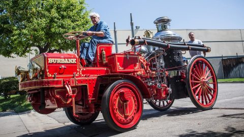 Jay Leno's 1911 Christie Fire Engine