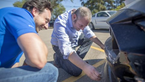 How One Piece of Duct Tape Improved Handling and Efficiency In a Ford Mustang